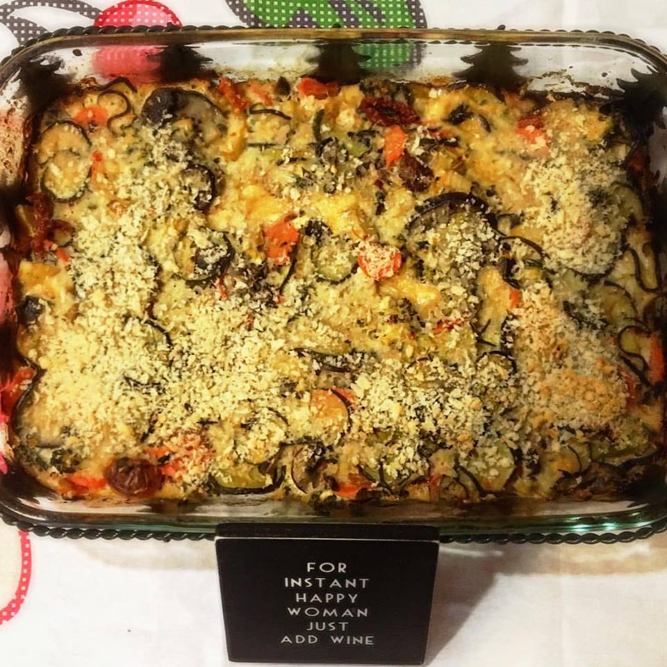 Video Recipe:  Five Veggies and Cottage Cheese Bake
