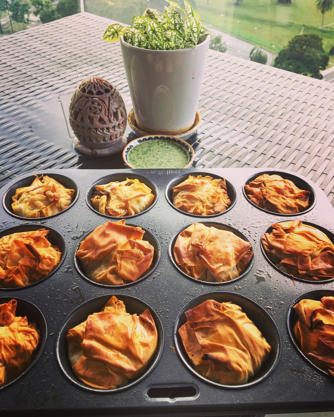 Egg Filo Parcels (Inspired by Egg Curry Puffs)